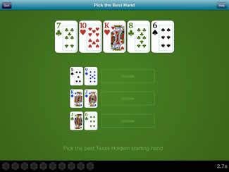 Poker Skills The Best Hand App