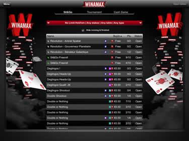 Winamax Poker App Review