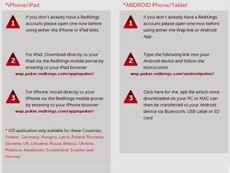 Red Kings Poker App iPad