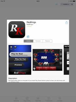 Red Kings Mobile Poker App