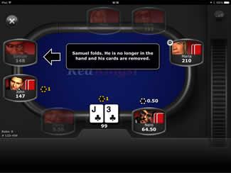 Play Red Kings Mobile Poker App