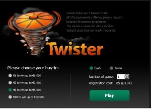 Bet365 Poker Twister Poker Promotion