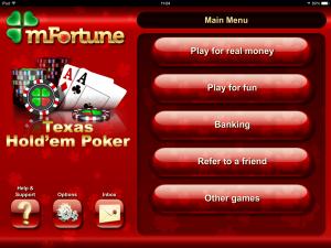 mFortune Texas Holdem Free Bonus