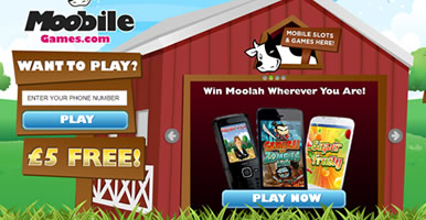 Sign up at Moobile