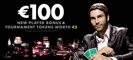 Deposit bonus Bet365 Poker