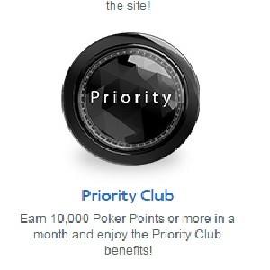 Sky Poker Priority Club