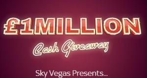 Sky Vegas 1m Cash Giveaway 2