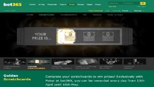 Bet365 Golden Scratchcard Promotion