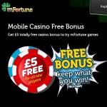 mFortune Casino promotions July