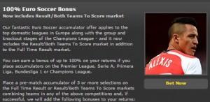 Bet365 Sport Euro Soccer Bonus