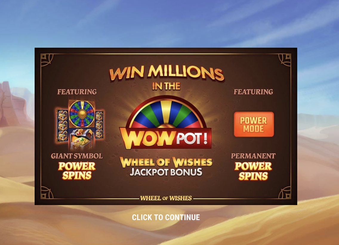 Why Not Try Your Hand at the Wheel of Wishes Slot for a £2m Prize?